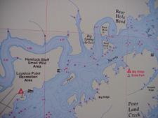 Chickamauga lake maps gps maps information chickamauga for Lake chickamauga fishing map