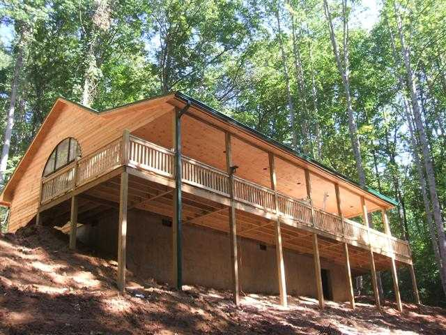 Custom home lake condo and lot for sale watauga lake Getawaycabins com